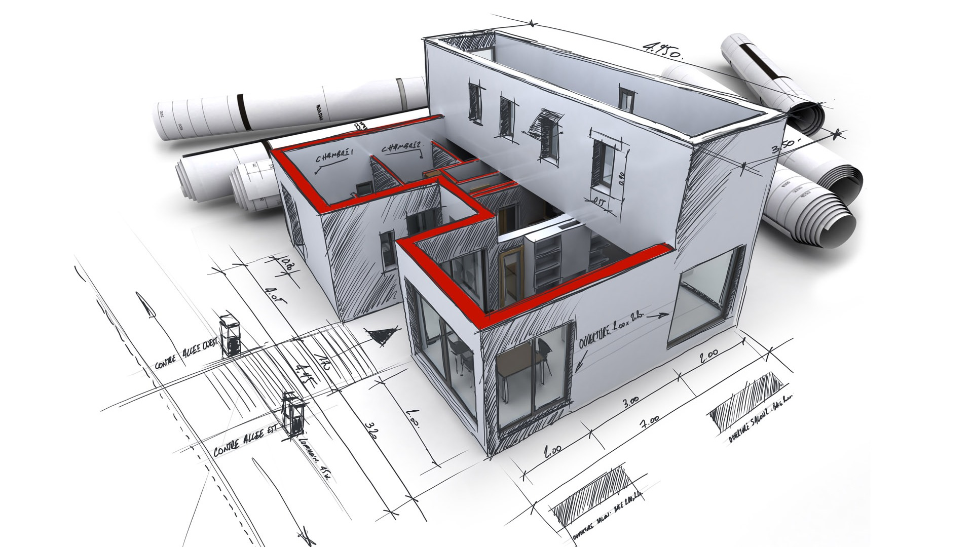 Architecture design estimating boomer engineering for Online architecture design services